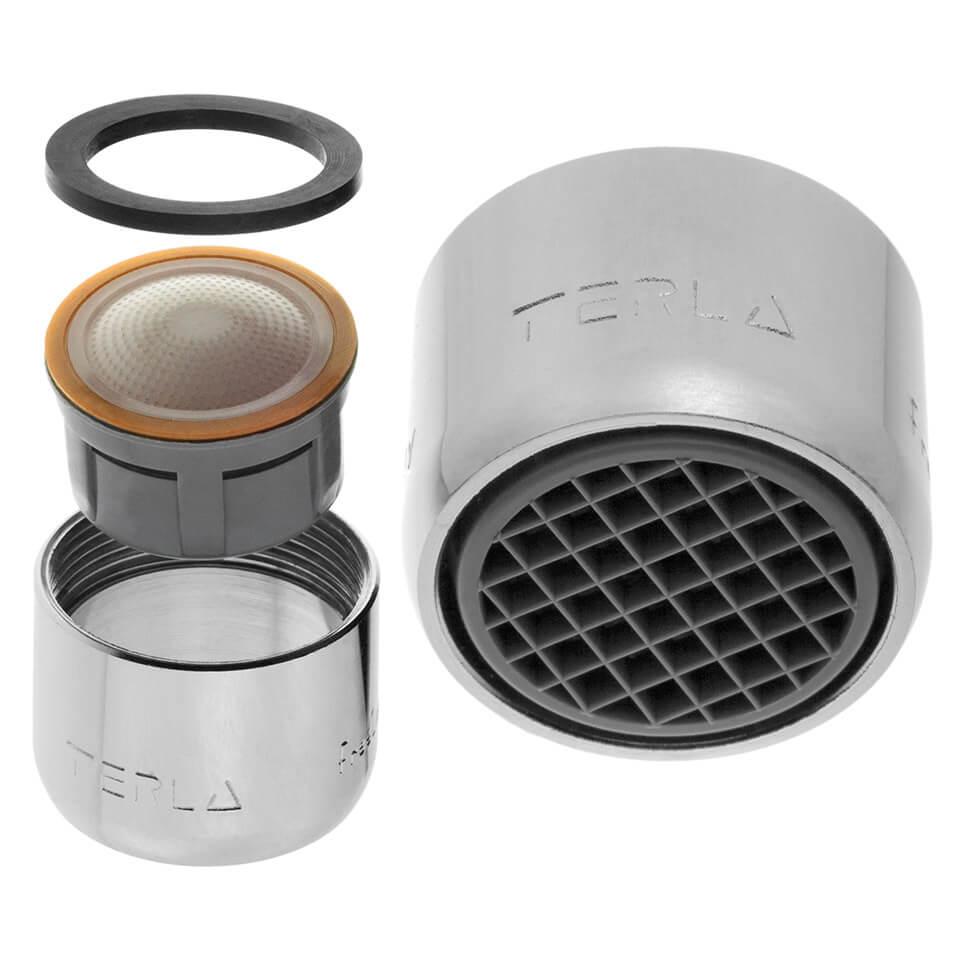 Strahlregler Terla FreeLime 2.5 l/min - Gewinde M22x1 innerer