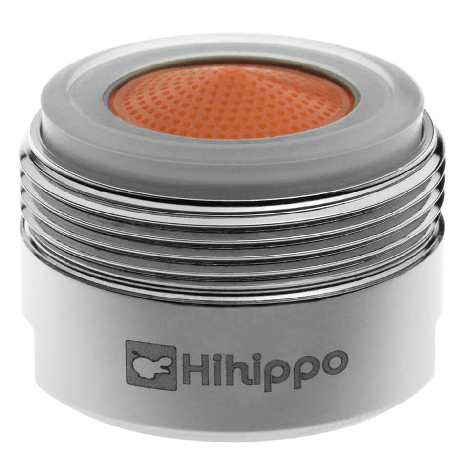 Strahlregler Hihippo HP 1.8 - 4.2 l/min start/stop - Gewinde M24x1 äußerer - beliebtesten