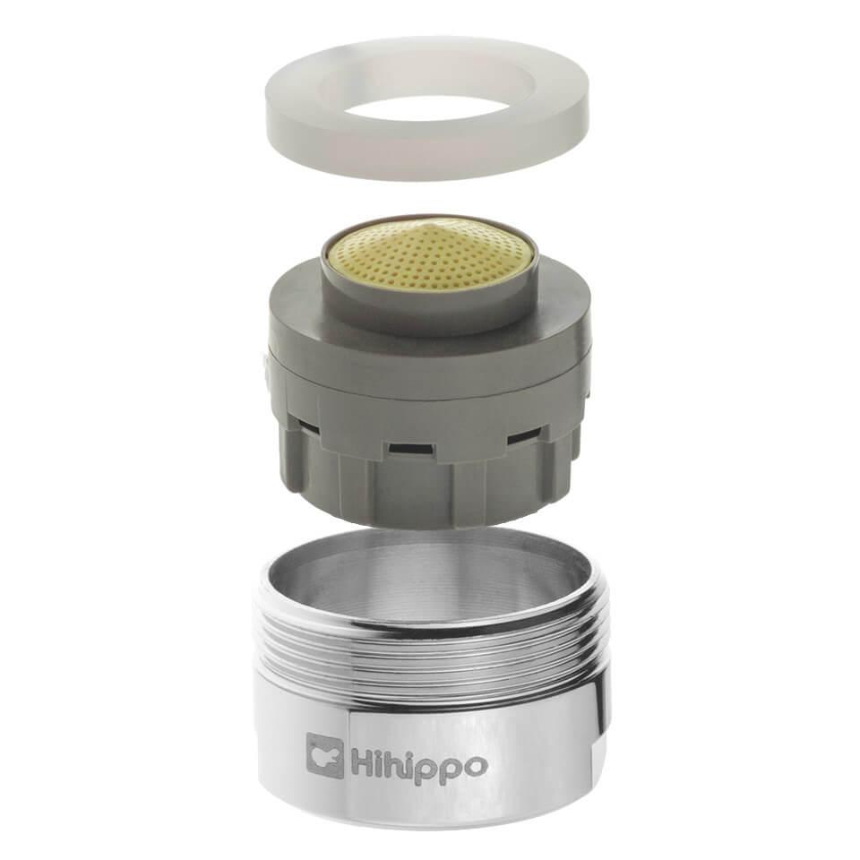 Einstellbarer Strahlregler Hihippo SR 3.0 - 8.0 l/min - Gewinde M24x1 äußerer - beliebtesten