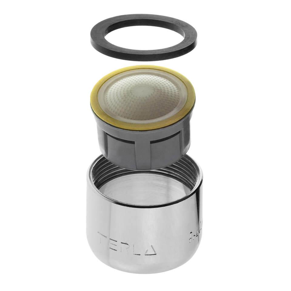 Strahlregler Terla FreeLime 1.7 l/min - Gewinde M22x1 innerer